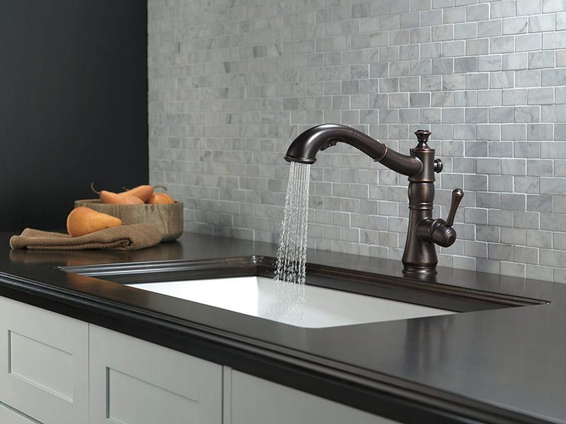 best kitchen faucet for hard water in