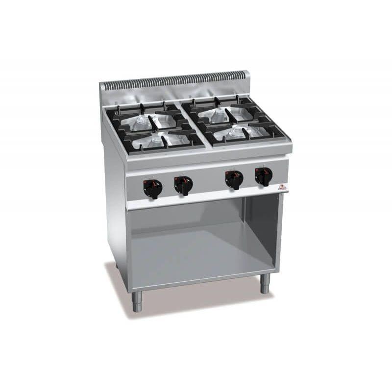 CUCINA A GAS 4 FUOCHI SU VANO G7F4MPW  ChefStoreit