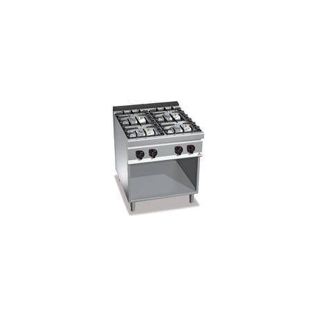 CUCINA A GAS 4 FUOCHI SU VANO G9F4MPW  ChefStoreit
