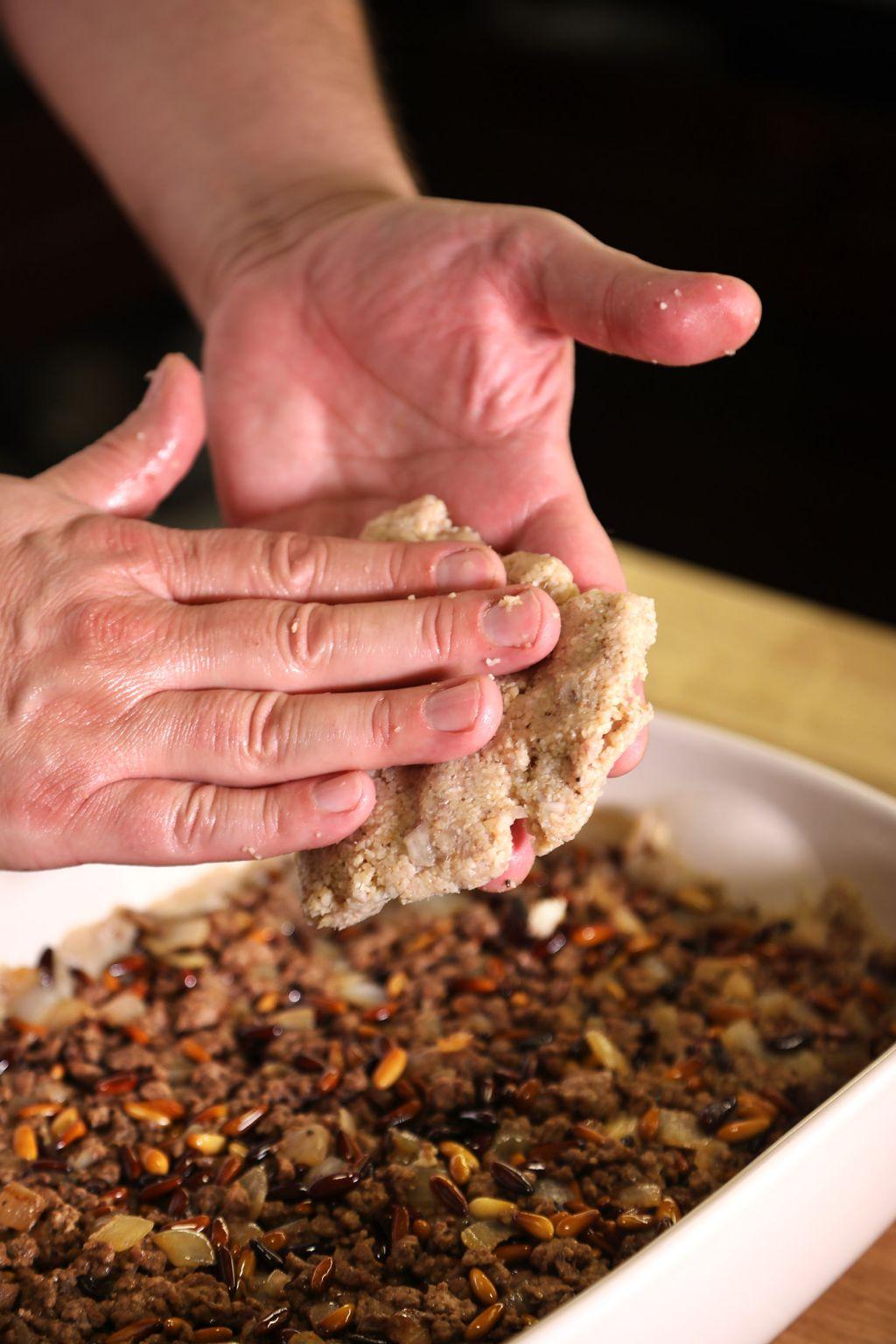 Baked Kibbeh | Chef Tariq | Middle Eastern Recipes