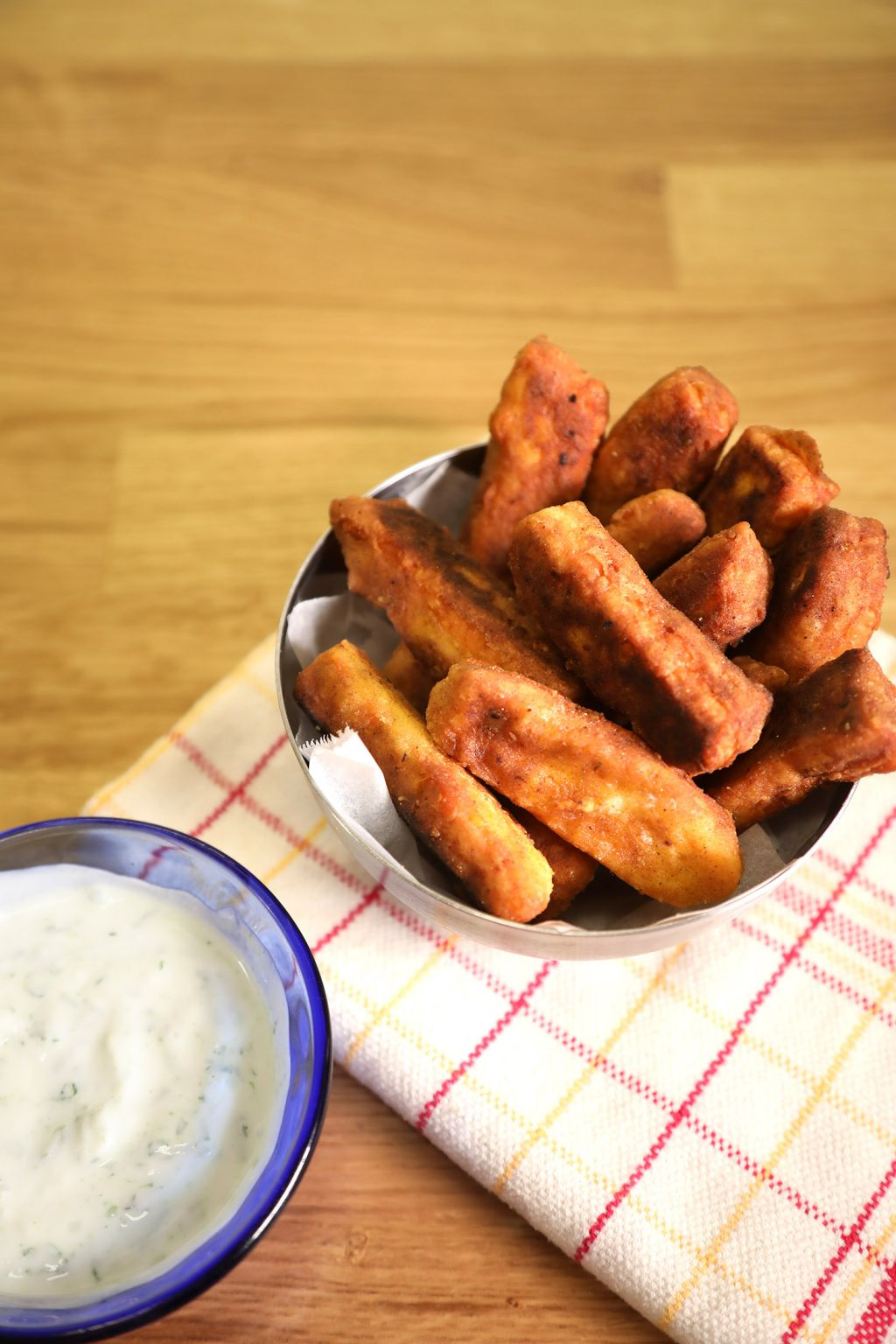 halloumi fries