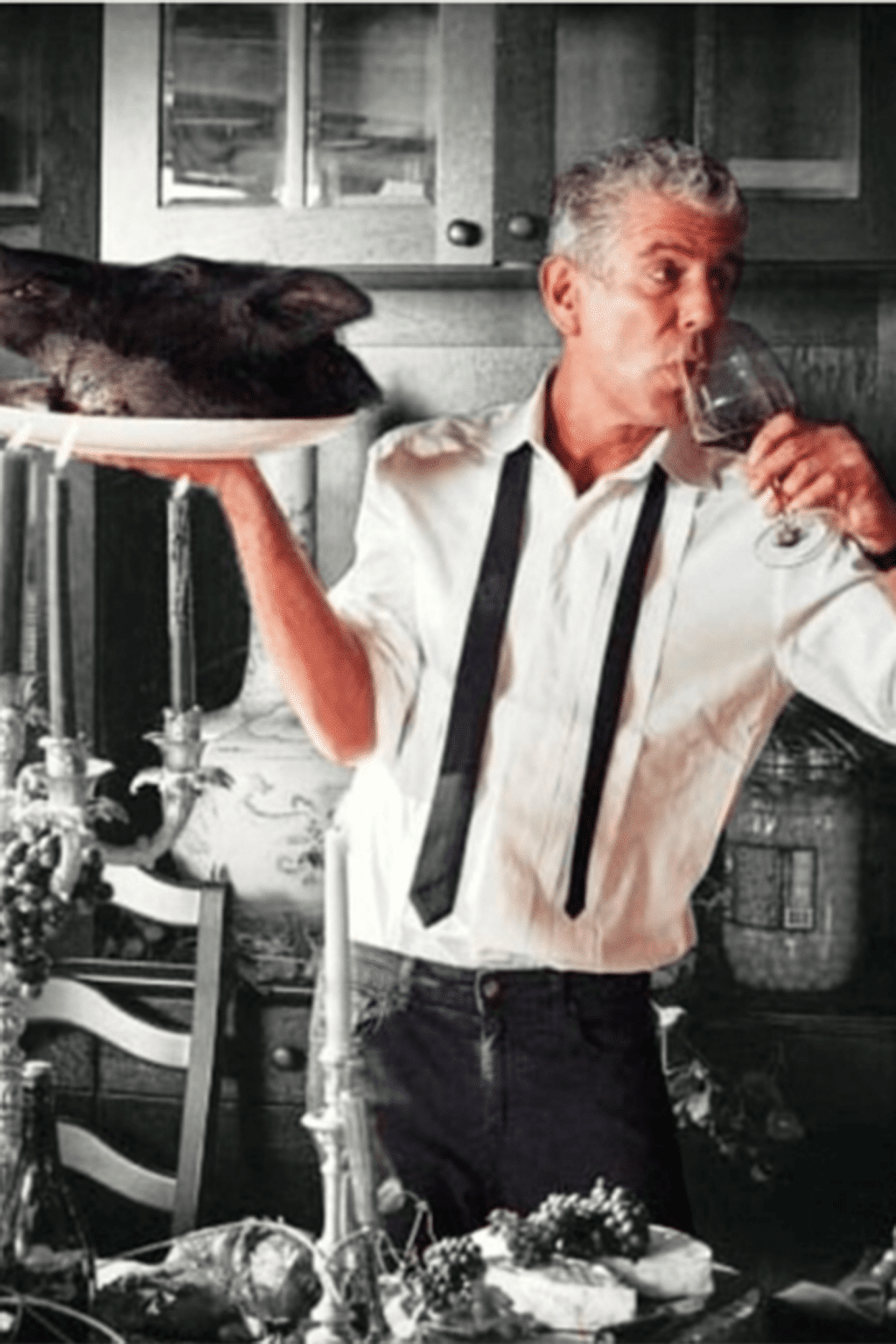 anthony bourdain kitchen confidential