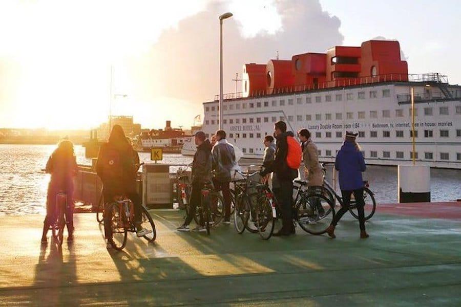 hidden culture bike amsterdam