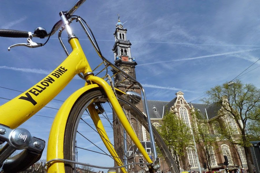 yellow-bike-rental-amsterdam