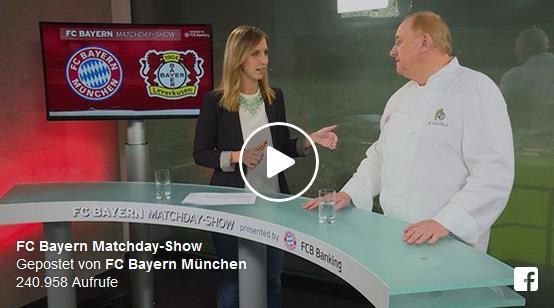 Alfons Schuhbeck & FC Bayern und das Glaserl Bier