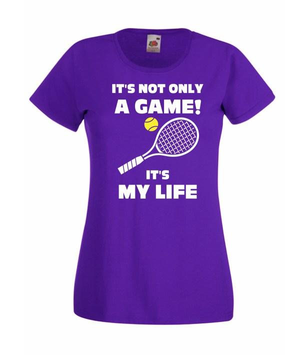 T-shirt Tennis Life Donna Bambina - Cheideastore