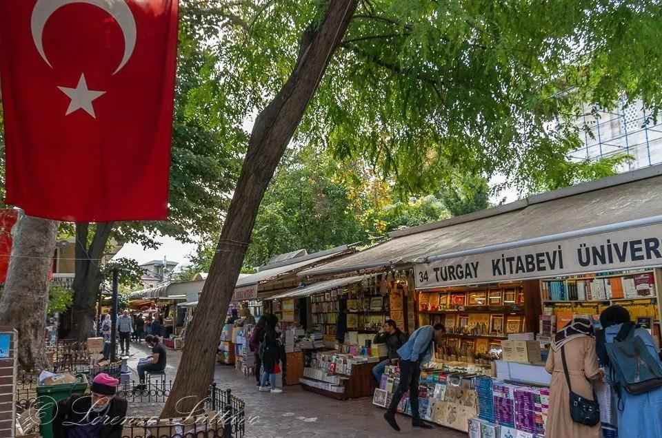 Mercato dei Libri a Istanbul
