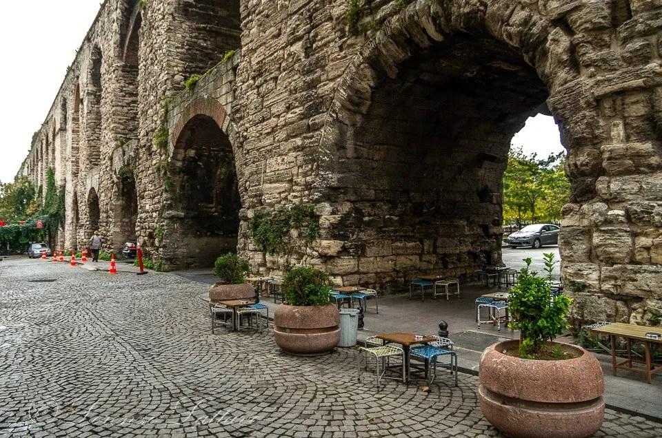 Acquedotto di valente a istanbul