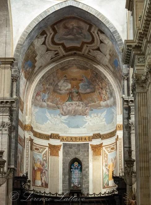 abside interno dellacattedrale di sant'agata a catania