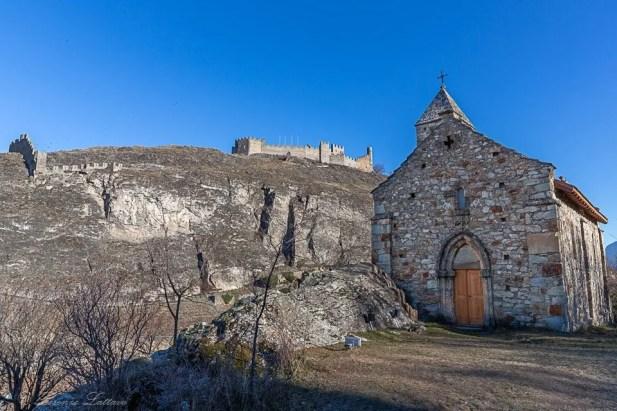 Château de Tourbillon e Tous les Saints a Sion