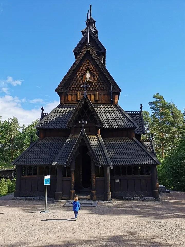 stavkirke al Norsk Folk Museum