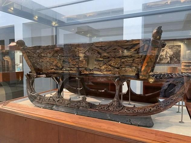 Slitta al Museo delle Navi Vichinghe