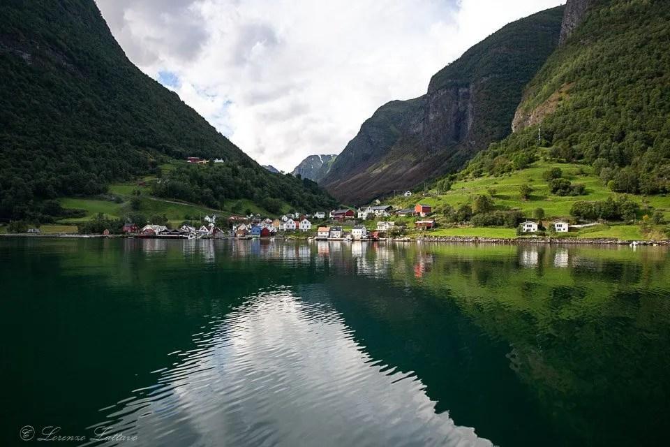 Undredal poco prima del Naerofjord