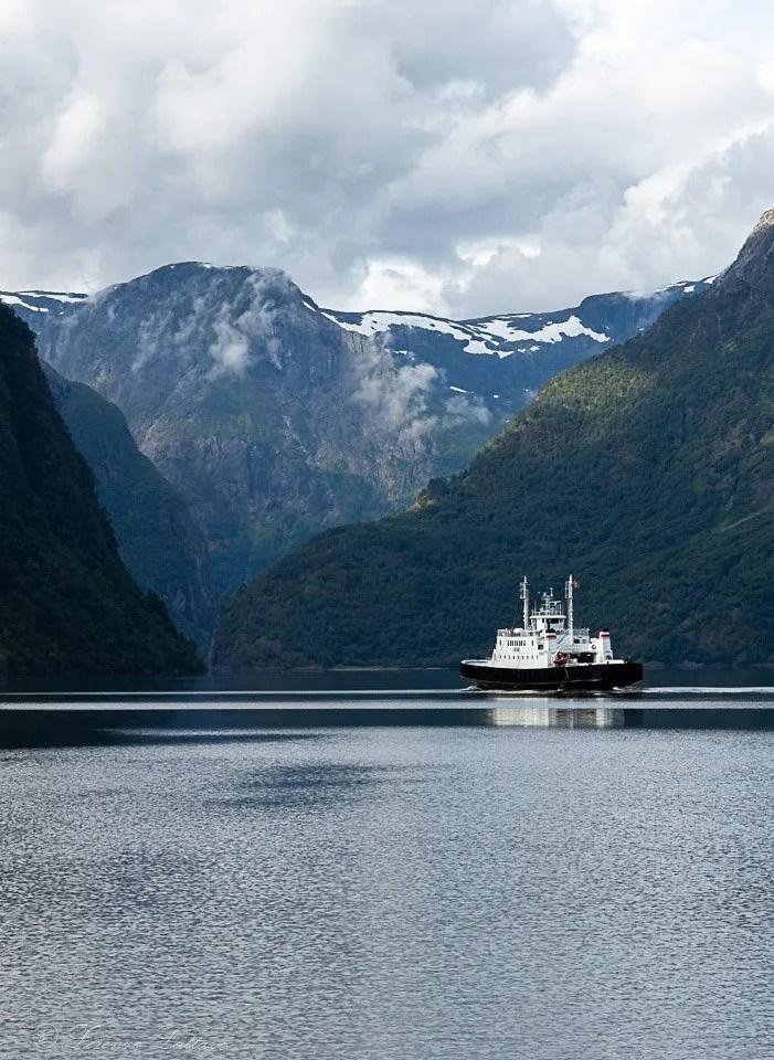 Il Naerofjord nel nostro itinerario di 18 giorni in norvegia