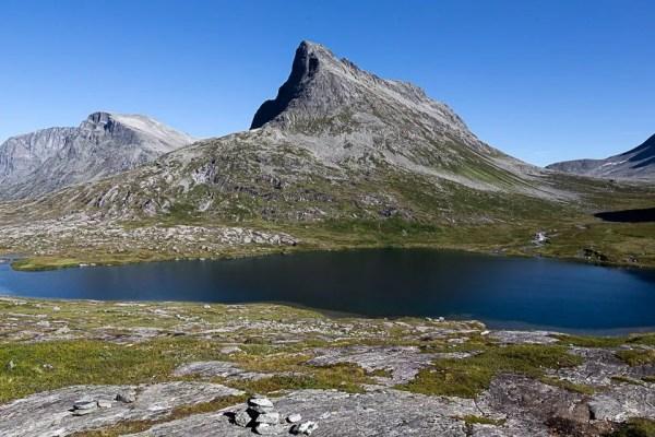 sulla strada per la Trollstigen