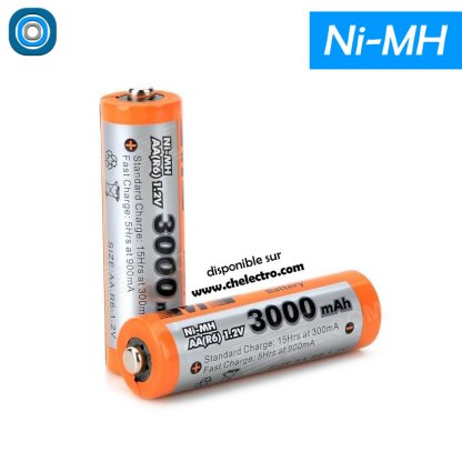 Piles rechargeables Ni-MH