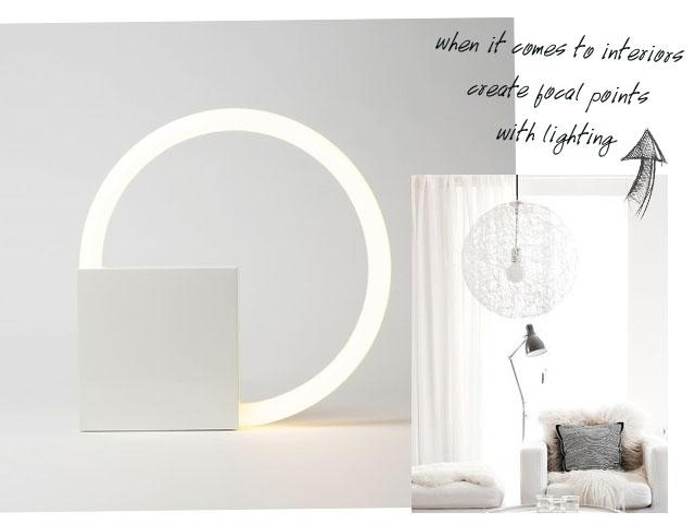 all white interiors