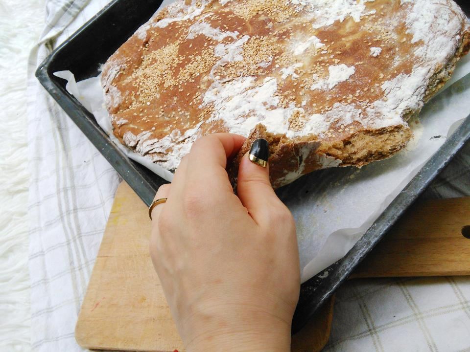 warm bread straight from the oven easy healthy bread recipes