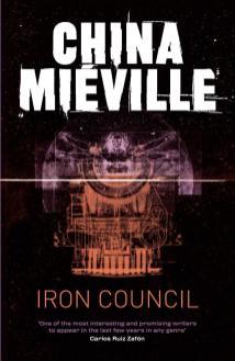 libro Il treno degli dèi Iron Council romanzo fantasy fantascienza steampunk di China Miéville