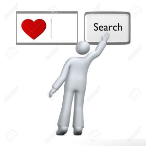 4585225-Looking-for-love-human-searching-for-love-with-heart-using-abstract-search-engine-Stock-Photo