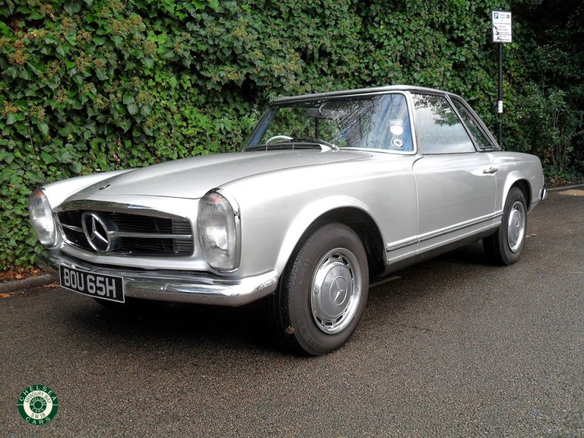 1970 mercedes 280 sl for sale chelsea cars. Black Bedroom Furniture Sets. Home Design Ideas