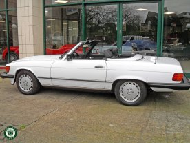 1986 Mercedes 560 SL For Sale