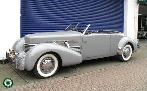 1937 Cord Phaeton 812 s/c Supercharged Convertible For Sale