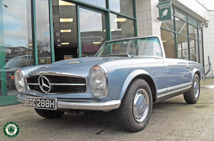 1969 Mercedes Benz 280sl For Sale Chelsea Cars