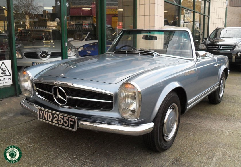 Photo 1969 Mercedes 280 SL Ford Sale