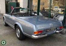 1969 Mercedes 280 SL Ford Sale