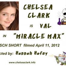 Promo Postcards - Chelsea Clark in