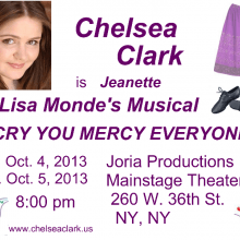 Postcards - Chelsea Clark in I CRY YOU MERCY EVERYONE