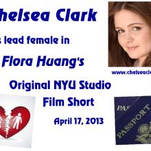 Postcards- Chelsea Clark in Flora Huang's original NYU short