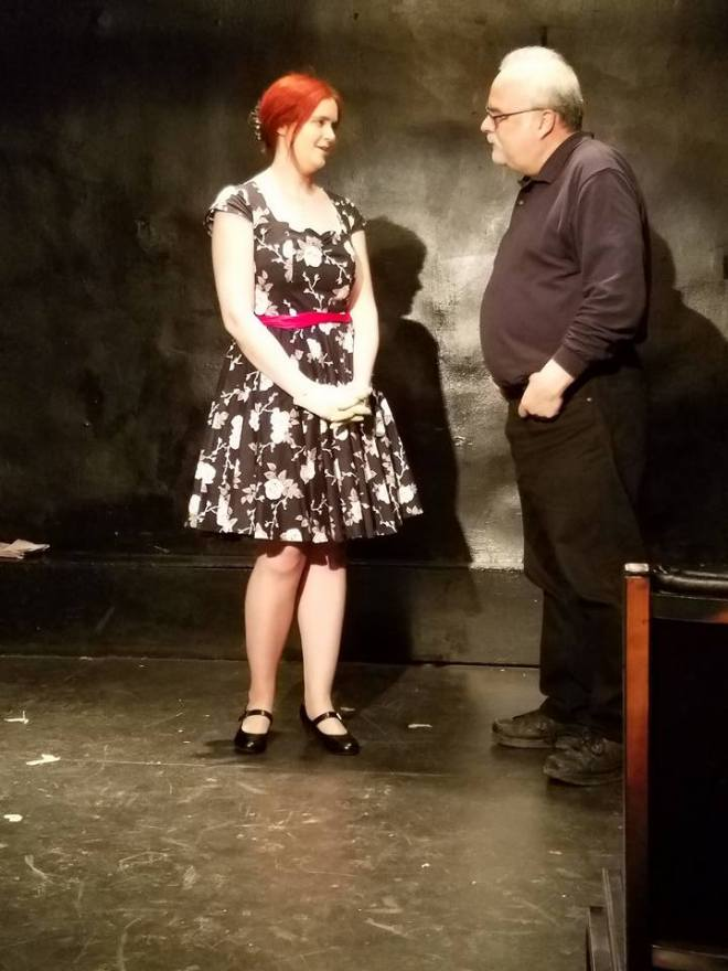 Chelsea Clark with Al Choy in Tennessee Williams' SWEET BIRD