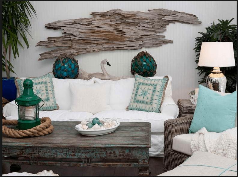 Nautical and Coastal Home Dcor Ideas  Chelsea Clock Blog