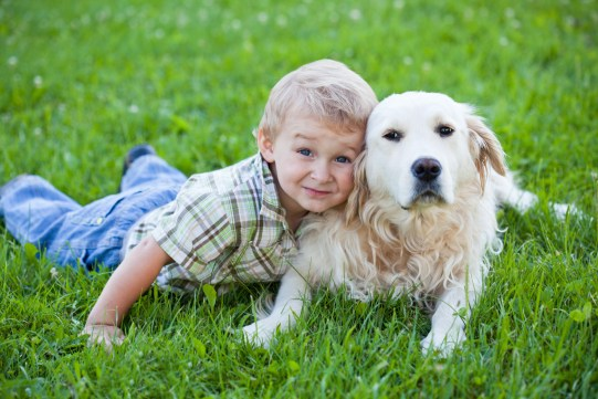 dog and kids - 10 Reasons For Having A Dog