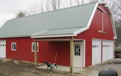 Pole Barns and Garages  Chelsea Lumber Company  Chelsea Saline and Bridgewater Michigan