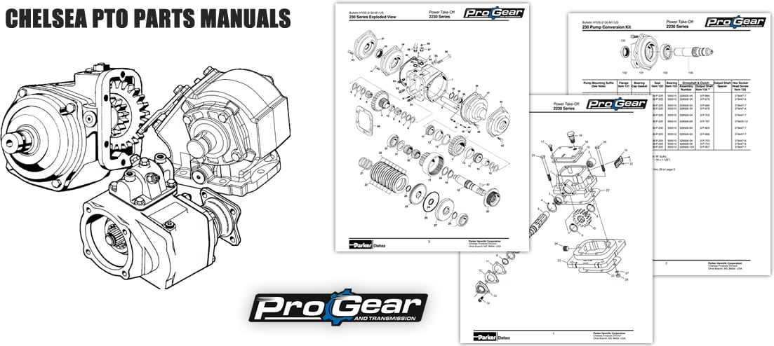 Chelsea PTO Parts Manuals PDF| Need help? Call 877-776-4600