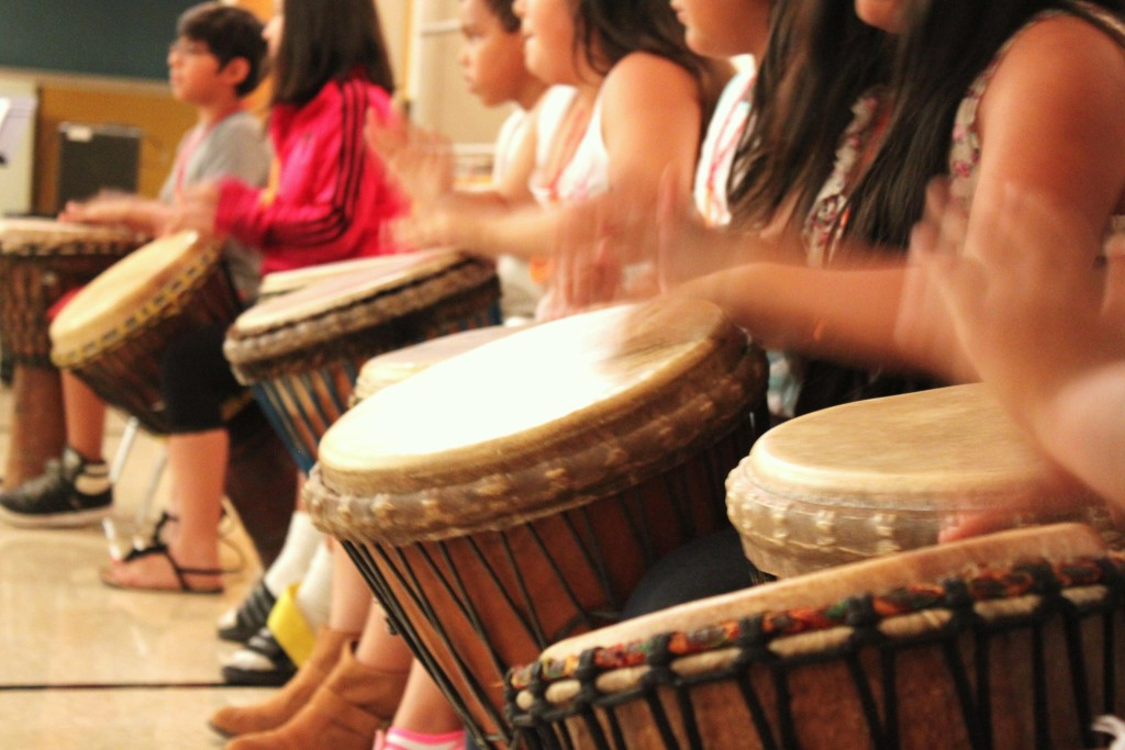 Multicultural Music Camp concert