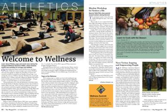 Article in the Multnomah Athletic Club (MAC) magazine