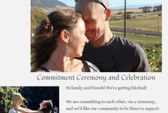 Wedding Website – On a Budget!