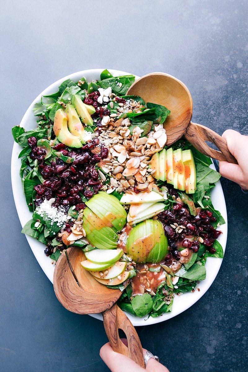 Almond Apple Quinoa Salad