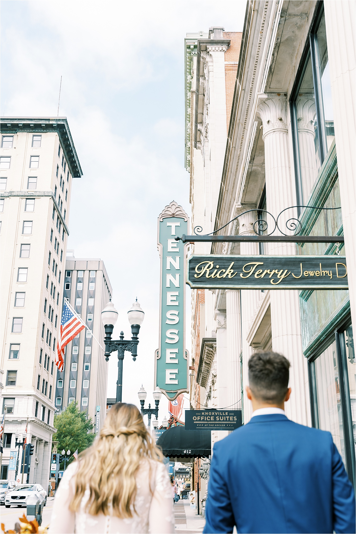 Downtown knoxville elopement