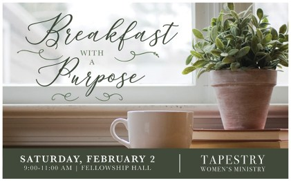 Breakfast with a Purpose - February 2019