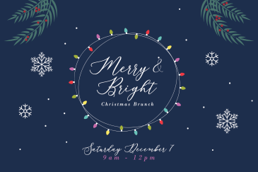 Merry and Bright - Tapestry Christmas Outreach