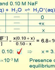 Hf example also common ion and ph rh chem fsu