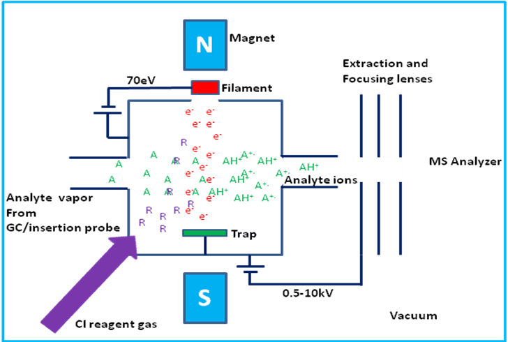 schematic diagram of mass spectrometer vaillant ecotec plus 630 system boiler wiring spectrometry introduction department chemistry ci source