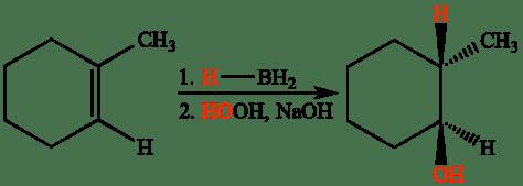 Znalezione obrazy dla zapytania methylcyclohexene and BH3