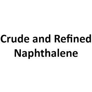 Crude and Refined Naphthalene