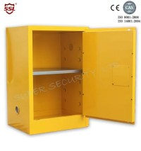 Fire Resistant Yellow Safety Mobile Storage Cabinet